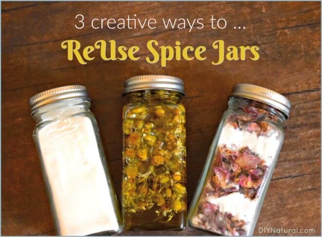 Reuse Spice Jars Glass