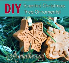 Make DIY Aromatherapy Christmas Tree Ornaments