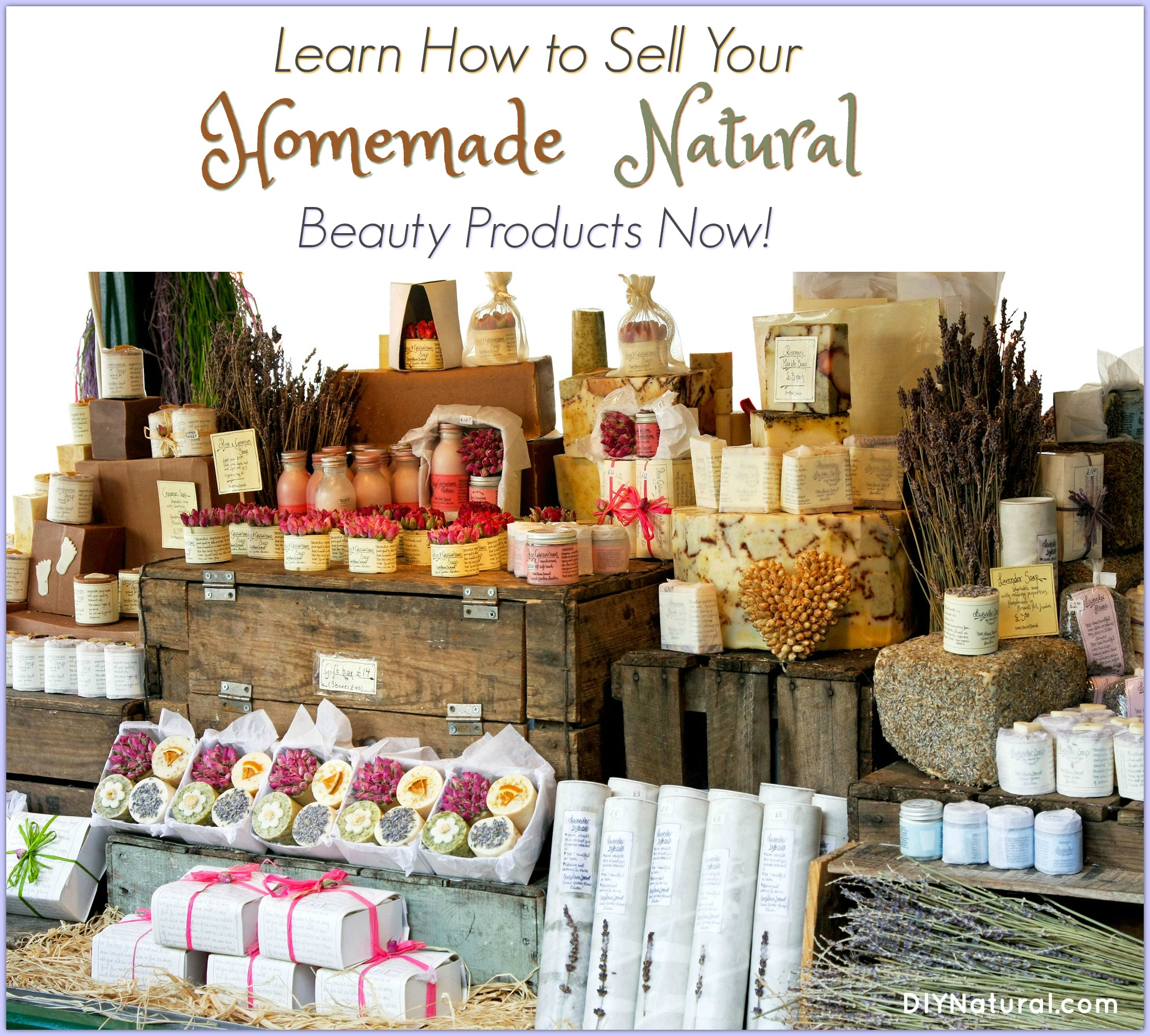 How to sell homemade products health and beauty edition for A bathroom item that starts with p