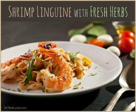 Shrimp Linguine Pasta