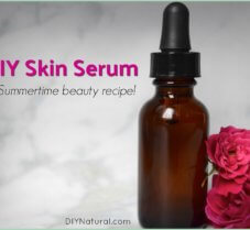 A Simple and Nourishing DIY Summer Facial Serum