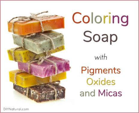Soap Colorants Pigments Oxides Micas