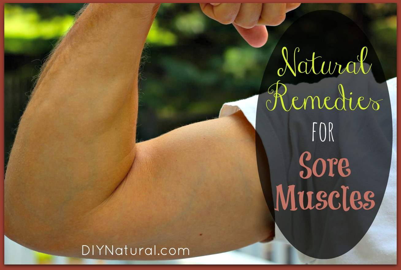 Sore Muscle Relief - Home Remedies For Sore Muscles