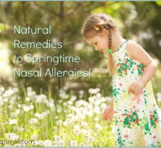 Learn to Treat Springtime Nasal Allergies Naturally