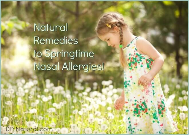 Spring Allergies Naturally