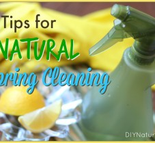 Spring Cleaning – Tips For a Naturally Clean Home