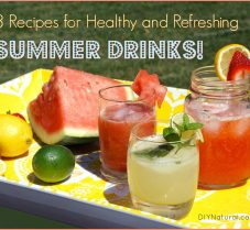 Three Healthy and Refreshing Summer Drink Recipes