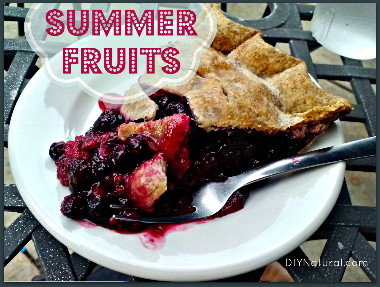 Summer Fruit Recipe That Tastes Great and is Good For You
