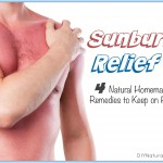 Sunburn Relief: 4 Natural Remedies To Use at Home