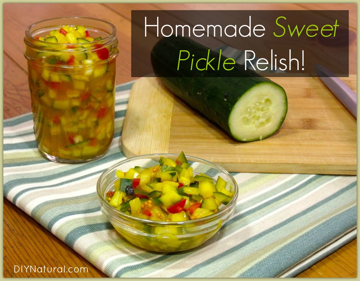 Sweet Pickle Relish Recipe A Delicious Condiment For Summer Cookouts