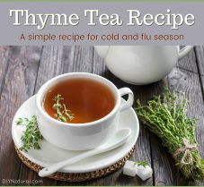 A Simple Thyme Tea Recipe for Cold and Flu Season