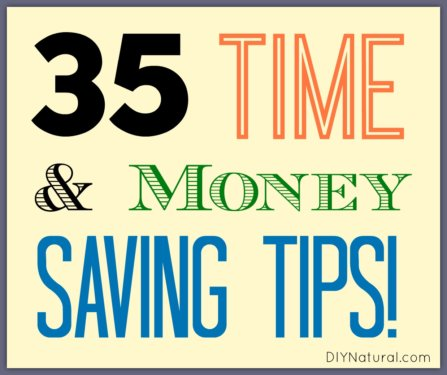 Time and Money Saving Tips