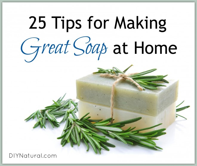 Tips on How To Make Soap At Home