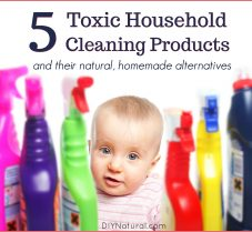 5 Toxic Cleaning Products & 5 DIY Natural Substitutes