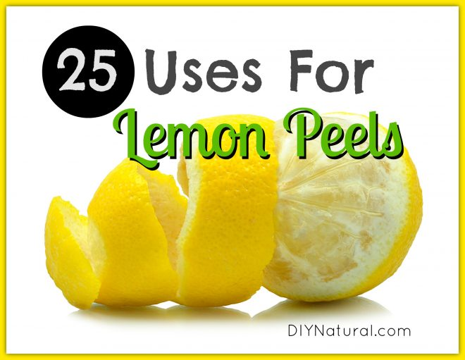 25 Uses For Lemon Peel - You Won't Believe All the Great Uses