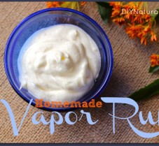 Whipped DIY Vapor Rub for Chest Congestion