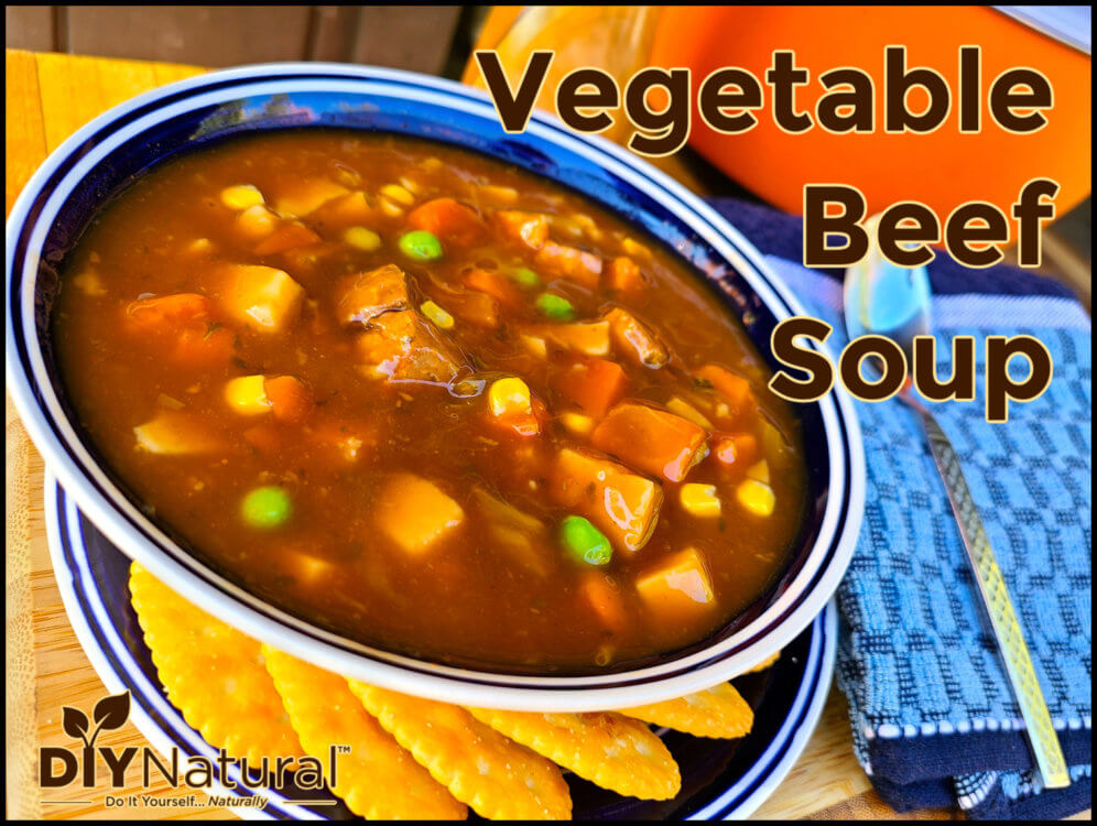 Classic and Comforting Vegetable Beef Soup Recipe