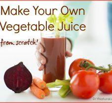Simple Homemade Vegetable Juice (Better than V8!)