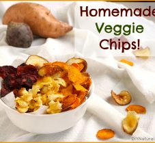 A Healthy Homemade Baked Veggie Chips Recipe