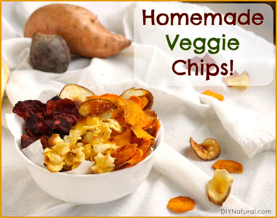 Veggie Chips Recipe Homemade
