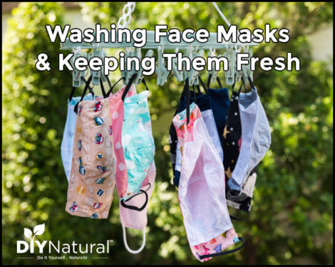 Washing Face Masks How to Clean