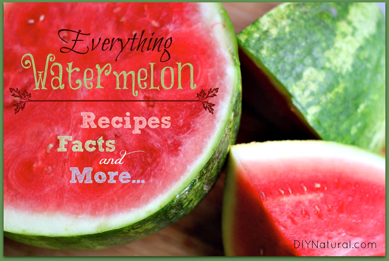 Watermelon Recipes, Facts, and Everything Else You Need To Know