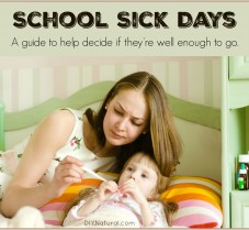 When are Sick Children Well Enough for School?