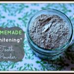 Homemade Tooth Powder Recipe