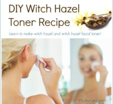 How To Make Witch Hazel & Witch Hazel Facial Toner