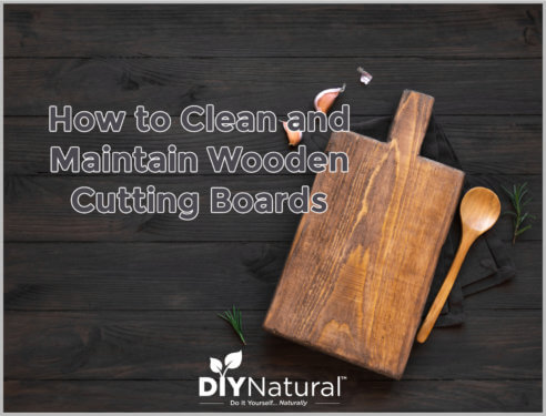 Wooden Cutting Board Oil How to Clean